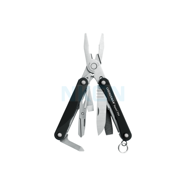 Leatherman Squirt PS4 Keychain Multitool (black)