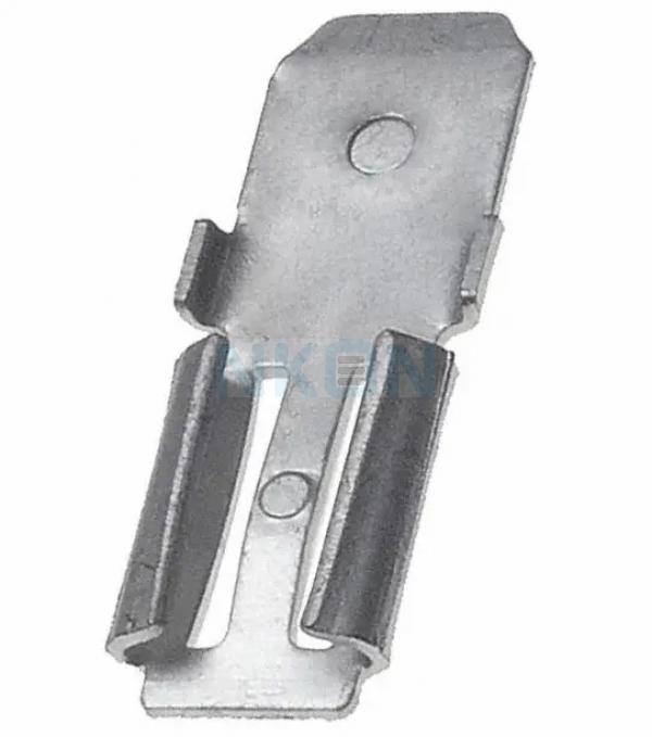 2x Clamp Adapter for lead battery - 4.74mm x 6.35mm