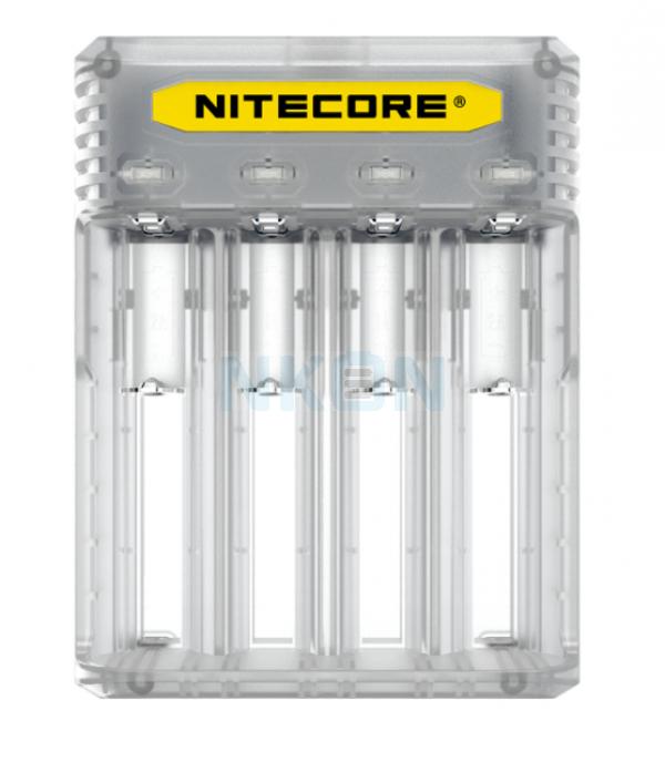 Nitecore Q4 battery charger - Lemonade