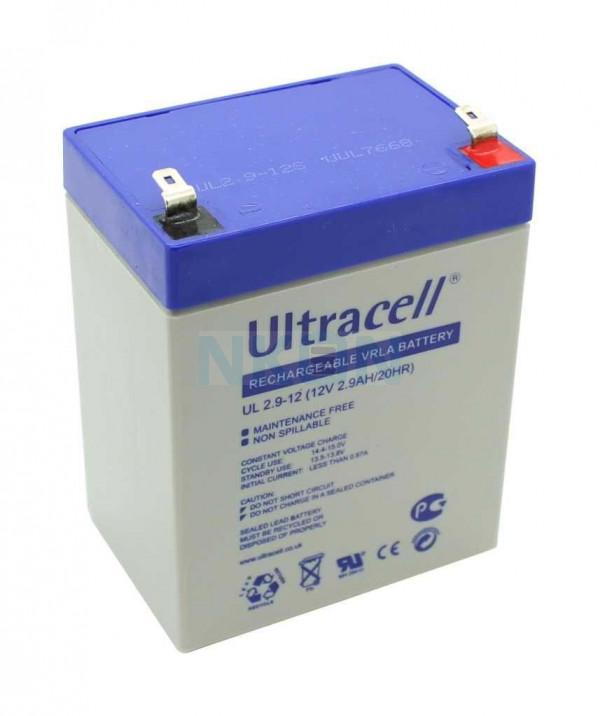 Ultracell 12V 2.9Ah Lead acid