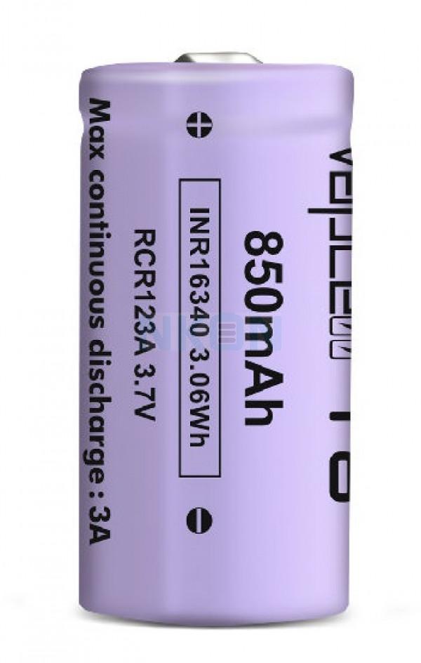 Vapcell INR16340 850mAh - 3A Button Top
