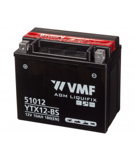 VMF Powersport MF 12V 10Ah Lead acid battery
