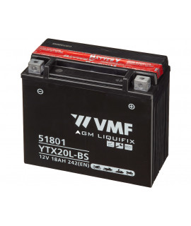 VMF Powersport MF 12V 18Ah lead battery