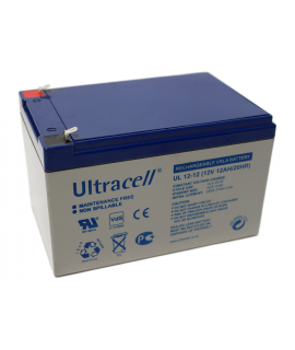 Ultracell 12V 12Ah Lead acid