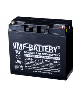 VMF Deep Cycle 12V 18Ah lead-acid battery