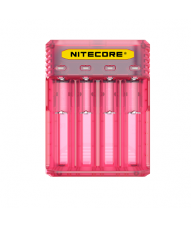 Nitecore Q4 battery charger - Pinky Peach