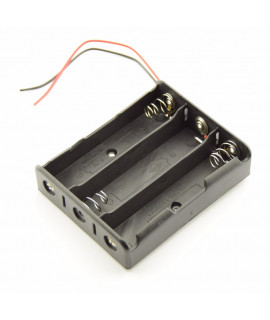 3x 18650 Battery holder with wires