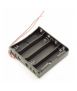 4x 18650 Battery holder with wires
