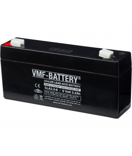 VMF 6V 3.2Ah lead battery