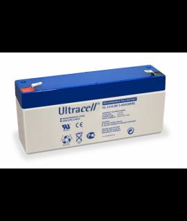 Ultracell 6V 3.4Ah Lead acid