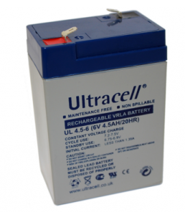 Ultracell 6V 4.5Ah Lead Acid