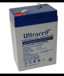 Ultracell 6V 4.5Ah Lead Acid