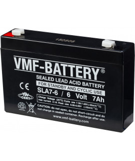 VMF 6V 7Ah lead-acid battery