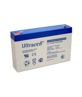 Ultracell 6V 7Ah Lead acid