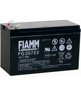 Fiamm FG 12V-7.2 (6,3mm) Lead Acid