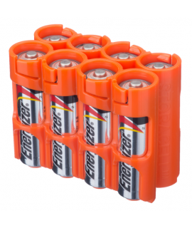8 AA Powerpax Battery case - Orange