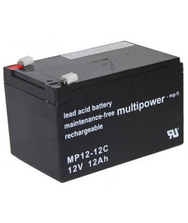 Multipower Deep Cycle 12V 12Ah Lead Acid