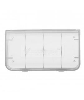 Keeppower 2x 18650 or 4x 18350 battery case