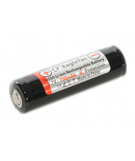 EagleTac 14500 battery 750mAh