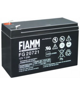 Fiamm FG 12V-7.2 (4.8mm) Lead Acid