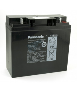 Panasonic 12V 17Ah lead acid