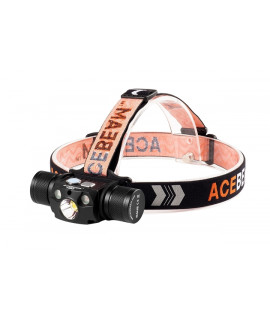 Acebeam H30 Headlamp Cool White (6500K) + Nichia 219C CRI 90+ LED