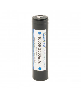 Keeppower 16650 2500mAh (protected) - 7A