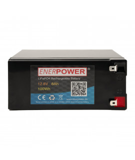 Enerpower 12.8V 8Ah - LiFePo4 (replacement of lead battery)