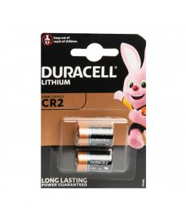 2x Duracell CR2 Lithium - blister