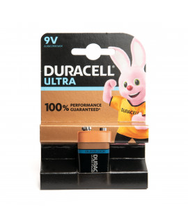 9V Duracell Ultra Power - blister