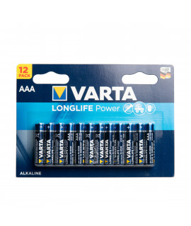 12 AAA Varta Longlife Power - blister