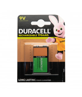 9V Duracell Recharge - 170mAh