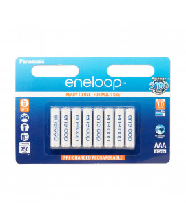 4 AA Eneloop batteries in blister, BK-3MCCE, 2100 times rechargeable