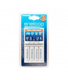 Panasonic Eneloop BQ-CC55 battery charger + 4 AA Eneloop (1900 mAh)