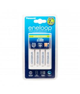 Panasonic Eneloop BQ-CC17 Advanced battery charger + 4 AA Eneloop (1900mAh)