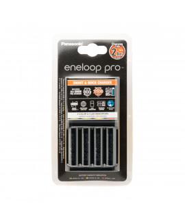 Panasonic Eneloop BQ-CC55 battery charger + 4 AA Eneloop Pro (2500mAh)