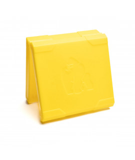 4x18650 Chubby Gorilla battery box - yellow