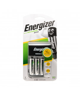 Energizer Base battery charger + 4 AA Energizer (1300mAh)