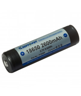 Keeppower 18650 2600mAh (protected) - 5.2A