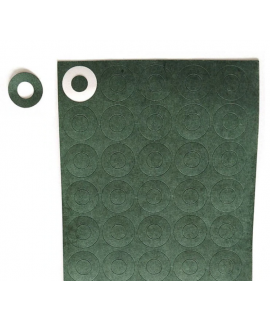 1x 20700/21700 insulation paper green