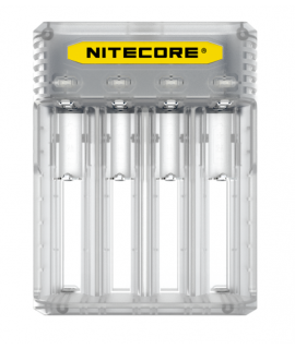 Nitecore Q4 battery charger - Lemonade