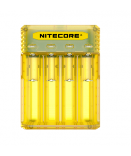 Nitecore Q4 battery charger - Juicy mango