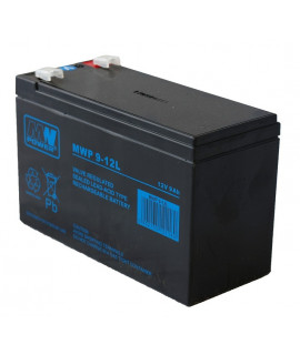 MWPower Deep Cycle 12V 9Ah Lead acid battery (6.3mm)