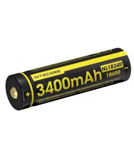 Nitecore 18650 NL1834R USB 3400mAh (protected) - 1A