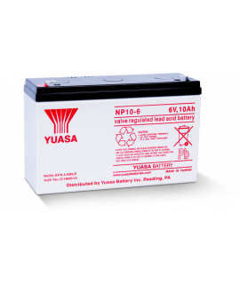 Yuasa Deep Cycle Gel 6V 10Ah Lead battery