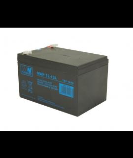 MWPower Deep Cycle 12V 12Ah Lead Acid Battery (6.3mm)