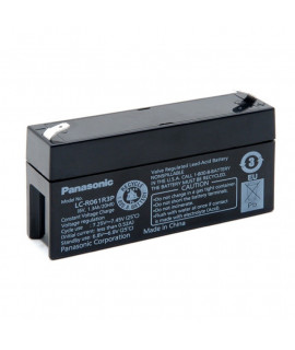 Panasonic 6V 1.3Ah Lead acid