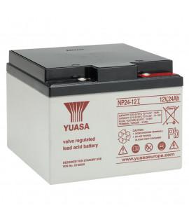 Yuasa 12V 24Ah lead battery