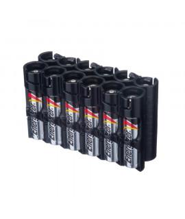 12 AAA Powerpax Battery case - Black