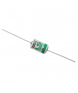 SAFT LS14250 / 1/2 AA with axial solder tags (CNA) - 3.6V